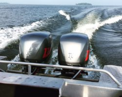 Seascape attends Official Press launch for D - Torque Turbo diesel outboard